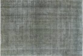 8x12 Area Rug Traditional Overdyed 8x12 Grey Wool Knotted Floral