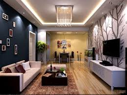 simple home hall design of pop ceiling decor in living room