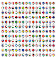 Map Marker Paper Map Marker With Flags Icons Of Map Pointer Vector Image