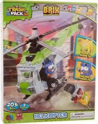 amazon cobi trash pack junk truck toys u0026 games