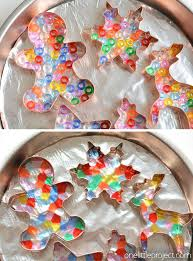 melted bead ornaments pony bead ornaments