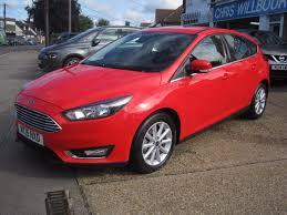 used ford focus titanium 2015 cars for sale motors co uk