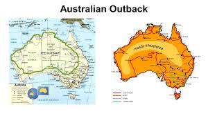 Oceania Map Outback Australia Map Australian Outback Map Australia And New