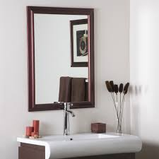 Bevelled Floor Mirror by Bathroom Mirror White Frame Ceiling Mirror Traditional Bathroom