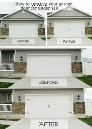 pinterrific garage door makeover inspiration click on the image