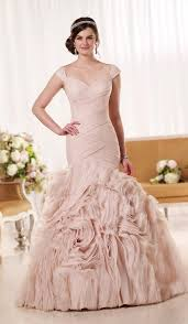 plus size wedding dresses in pink plus size prom dresses