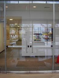 store front glass doors custom work