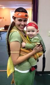 Ninja Turtle Halloween Costume Toddler Retro Babywearing Costume Brittany Baby Teenage Mutant