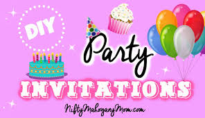 Design Invitation Card For Birthday Party Make Your Own Party Invitations Youtube