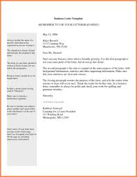 4 Formal Letter Format Expense by Printable Sample Business Letter Template Form Forms And