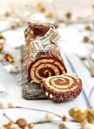 recette cuisine facile rapide bûche de noël roulée traditionnelle au chocolat facile et rapide