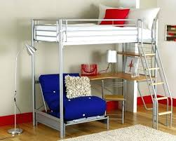 twin metal loft bed with desk and shelving metal loft bed with desk underneath twin metal loft bed with desk