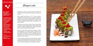 livre de cuisine asiatique nouveaux sushis livre de recettes originales de sushi maki