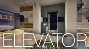 houses with elevators slime elevator in a modern minecraft house