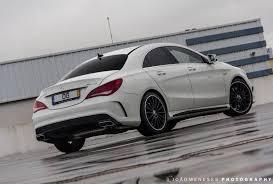 Modified A Class Mercedes 2014 Mercedes Benz Cla 45 Amg Photoshoot Gtspirit