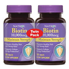 natrol biotin 10 000 mcg maximum strength tablets review