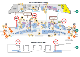 Los Angeles Airport Map by The Shilla Duty Free Store Listings The Shilla Duty Free