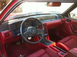 Fox Body Black Interior Ford Mustang Forum Ver Post Black Interior Conversion W Pics