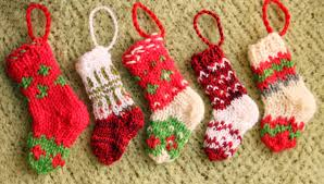 knit christmas knitted mini christmas knit crochet christmas