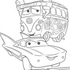 cars doc hudson lighting mcqueen disney cars coloring