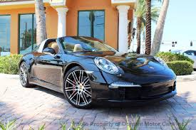 porsche 911 price used 2016 used porsche 911 targa 4s loaded special order car w