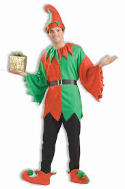 Best Costumes Amazon Com Forum Novelties Men U0027s Unisex Elf Costume Multi One