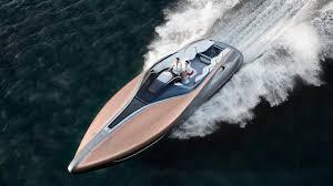 lexus twin turbo takes off lexus u0027 one off yacht offers 885 hp of maritime luxury