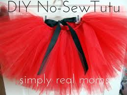 how to make tulle skirt adorable diy no sew tutu