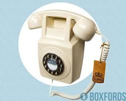 Old Fashioned Wall Mounted Phones 1970 U0027s Vintage Retro Wall Mounted Telephone Ivory Gpo Style Phone