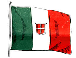Itlaly Flag Italy Flag 1910 Clipart Etc