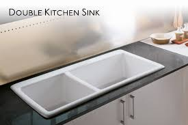 white double kitchen sink benefits of double kitchen sink the fabulous home ideas contemporary