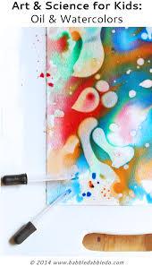 easy art idea oil u0026 watercolors watercolors science for kids