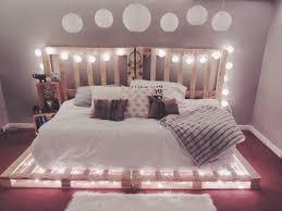 bed frame with lights wood pallet bed frame with lights 57 with wood pallet bed frame with