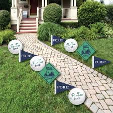 golf lawn decorations outdoor baby shower or birthday