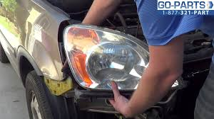 replace 2002 2006 honda cr v headlight bulb how to change