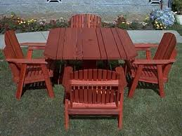Redwood Patio Table Redwood Patio Dining Chair Gold Hill Redwood Products