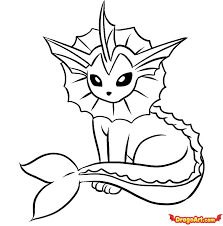 free printable coloring vaporeon coloring pages 15 download