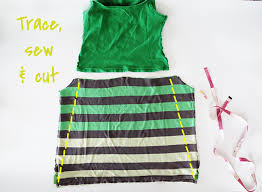 how to make a summer dress with t shirts ohoh blog