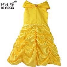 Fairy Halloween Costume Kids Aliexpress Buy Princess Belle Flower Fairy Tutu Dress Kids