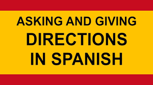 travel directions images Asking for and giving travel directions in spanish jpg