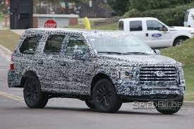 suv ford expedition 2018 ford expedition resembles f 150 suv in spy photos autoguide