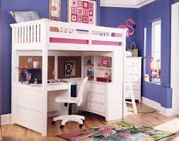 girls twin loft bed with slide bedroom elegant bunk beds for girls with slide and desk is