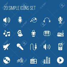 Seeking Song Set Of 20 Editable Song Icons Includes Symbols Such As Frequency