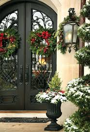 Large Metal Christmas Decorations by 31 Creative Front Door Christmas Decorations Front Door