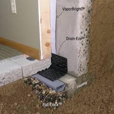 Interior Basement Wall Waterproofing Membrane Underslab Retrofits Sealing Slabs