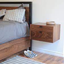 bedside l ideas practical floating bedside tables design for your bedroom