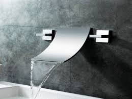 waterfall bathroom faucets brushed nickel bathroom decorations