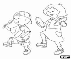 100 ideas caillou coloring pages games halloweencolor