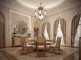 islamic interior villa qatar on behance