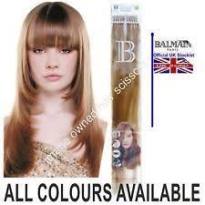 runway hair extensions balmain runway hair extension in bag nordic 25cm ebay